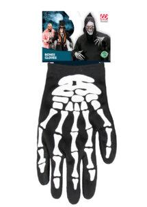gants squelette, gants squelettes halloween, accessoire halloween, accessoire halloween déguisement, accessoire squelette déguisement, Gants de Squelette, Adulte
