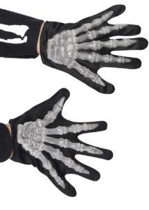 gants squelette, gants squelettes halloween, accessoire halloween, accessoire halloween déguisement, accessoire squelette déguisement, Gants de Squelette, Enfant