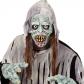 Masque de Zombie, avec Cheveux et Capuche, Latex