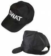 casquette swat, casquettes de police, chapeaux paris, accessoires déguisement police, accessoire swat, déguisement policier américain Casquette de Police, Brodée Swat