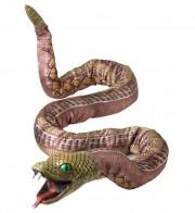 serpent python, serpent géant, faux serpent cobra, faux serpent halloween, décoration halloween, accessoire halloween déguisement, faux serpent halloween Serpent Python Modulable, 180 cm