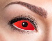 lentilles sclera, lentilles yeux complets, lentilles halloween, lentilles fantaisie, lentilles déguisement, lentilles déguisement halloween, lentilles de couleur, lentilles fete, lentilles de contact déguisement, lentilles rouges halloween, lentilles 22 mm Lentilles Sclera 22 mm, Rouges, Devil