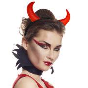 cornes de diable, accessoire halloween déguisement, accessoire déguisement halloween, accessoire diable déguisement, accessoire déguisement diable, cornes de diables halloween, cornes de diable pour halloween Cornes de Diable et Démon, Rouges
