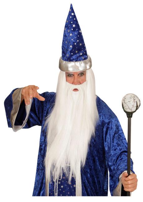 bâton de magicien, canne déguisement, canne halloween, accessoire halloween, canne boule de magicien, Bâton de Magicien