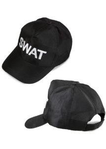 casquette swat, casquettes de police, chapeaux paris, accessoires déguisement police, accessoire swat, déguisement policier américain, Casquette de Police, Brodée Swat