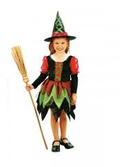 déguisement de sorcière enfant, déguisement halloween fille, déguisement halloween enfant, déguisement sorcière halloween enfant, déguisement sorcière halloween fille, costume halloween enfant, costume sorcière fille Déguisement de Sorcière Féérique, Fille