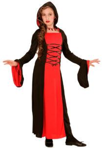 déguisement halloween fille, déguisement démon fille, déguisement diable halloween fille, Déguisement Lady Vampire Gothique, Fille