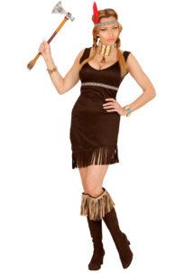 déguisement indienne femme, costume d'indienne femme, Déguisement d'Indienne, Chocolat