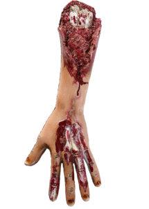 décoration halloween, accessoire décoration halloween, faux bras arraché, faux membre halloween, accessoire halloween, accessoire zombie halloween, accessoire zombie déguisement, faux membres coupés, faux bras, accessoire déguisement de zombie, accessoire déguisement halloween, Faux Bras Arraché de Zombie