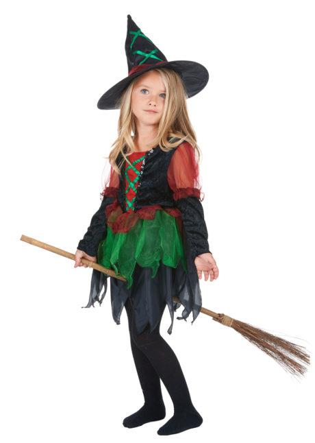 déguisement de sorcière enfant, déguisement halloween fille, déguisement halloween enfant, déguisement sorcière halloween enfant, déguisement sorcière halloween fille, costume halloween enfant, costume sorcière fille, Déguisement de Sorcière des Bois, Fille