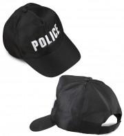 casquette police, accessoires déguisement police, casquette de policier, déguisement policier, casquettes police Casquette de Police, Brodée