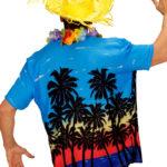 chemise palmiers déguisement, chemise hawaïenne, chemise hawaï déguisement, déguisement hawaï adulte, déguisement hawaï homme, chemise à fleurs déguisement Chemise Hawaïenne, Palm Beach
