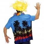 chemise palmiers déguisement, chemise hawaïenne, chemise hawaï déguisement, déguisement hawaï adulte, déguisement hawaï homme, chemise à fleurs déguisement Chemise à Palmiers, Hawaï
