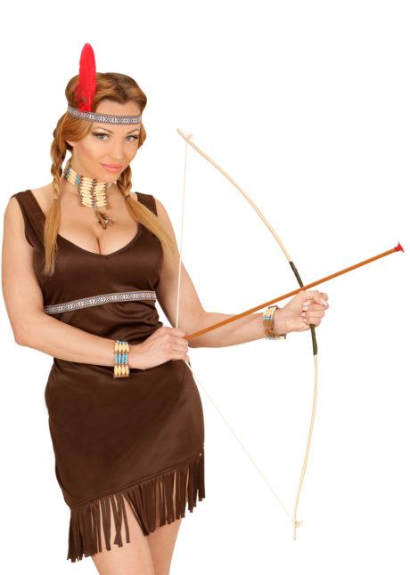arc de déguisement, faux arc, arc avec flèches, arc de robin des bois, arc en plastique, arc déguisement, Arc et Flèches avec Carquois, 100 cm
