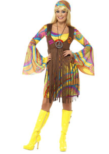DEGUISEMENT-HIPPIE-femme, déguisement de hippie pour femme, costume hippie femme, Déguisement Hippie Groovy Girl, 70s