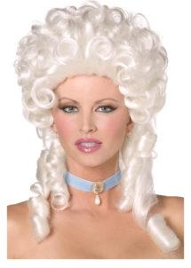 perruque marquise, perruque femme, perruque marie Antoinette, perruque Versailles, Perruque de Marquise