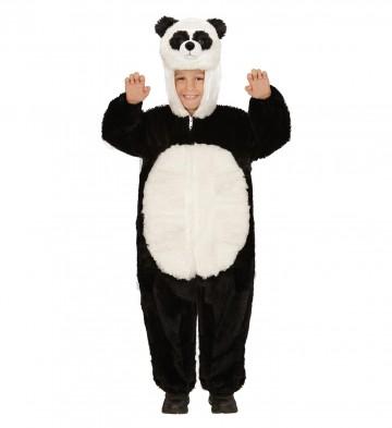 d guisement de panda fourrure fille et gar on aux feux. Black Bedroom Furniture Sets. Home Design Ideas