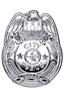 insigne de police, badge de police, insigne FBI, fausse plaque de police,, Badge de Police City