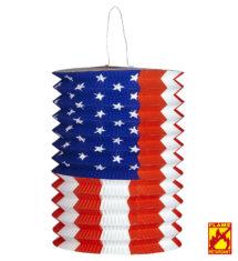 lampion drapeau américain, déco US, déco américaine, Lampion Drapeau Américain