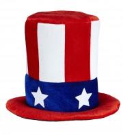 chapeaux, chapeaux haut de forme, chapeaux états unis, chapeaux paris, chapeau haut de forme, drapeaux américains, soirée états unis, chapeau oncle sam Chapeau Haut de Forme, USA