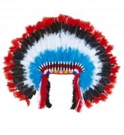 coiffe d'indien, plumes d'indien, accessoire déguisement indien, déguisement d'indien, coiffe d'indien à plumes, coiffure d'indien, coiffe de chef indien, coiffe déguisement Coiffe d'Indien Maxi, Luxe