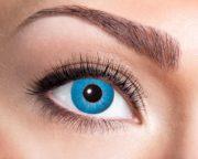 lentilles halloween, lentilles fantaisie, lentilles déguisement, lentilles déguisement halloween, lentilles de couleur, lentilles fete, lentilles de contact déguisement, lentilles bleues halloween, lentilles bleues, lentilles electro blue, lentilles fantaisie Lentilles Bleues, Electro Blue
