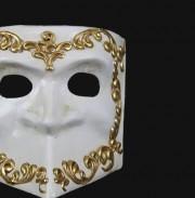 masque vénitien, loup vénitien, masque carnaval de venise, véritable masque vénitien, accessoire carnaval de venise, déguisement carnaval de venise, loup vénitien fait main Vénitien, Bauta Cera, Décor