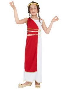 déguisement romaine enfant, déguisements filles, costumes filles déguisements, déguisement de romaine enfant, Déguisement de Déesse Greco Romaine, Fille