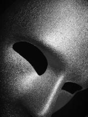 masque vénitien, masque visage, masque visage argent, masque neutre argent, masque de déguisement, accessoire déguisement masque Masque Visage, Viso Argent