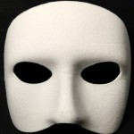 masque vénitien, masque doge, loup doge Loup Doge, Blanc