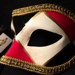 masque vénitien, loup vénitien, masque carnaval de venise, véritable masque vénitien, accessoire carnaval de venise, déguisement carnaval de venise, loup vénitien fait main Vénitien, Civette Losanges Galon