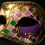 masque vénitien, loup vénitien, masque carnaval de venise, véritable masque vénitien, accessoire carnaval de venise, déguisement carnaval de venise, loup vénitien fait main Vénitien, Civette Mosaïque, Lilas