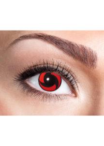 lentilles mangekyu, lentilles rouges, lentilles halloween, lentilles fantaisie, lentilles de contact hitachi, lentilles de déguisement, Lentilles Rouges, Mangekyu