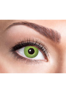 lentilles vertes, lentilles halloween, lentilles fantaisie, lentilles déguisement, lentilles déguisement halloween, lentilles de couleur, lentilles fete, lentilles de contact déguisement, lentilles, Lentilles Vertes, Electro Green