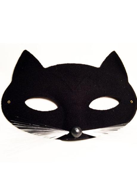 masque de chat, masque chat vénitien, loup chat noir, masque chat noir, Loup Chat Tabby, Noir