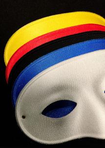 masque vénitien, loup vénitien, loup carnaval, masque de carnaval, Loup Domino