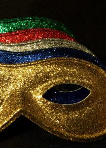 masque vénitien, loup vénitien, loup paillettes, masques paillettes, masques carnaval, Loup Holiday