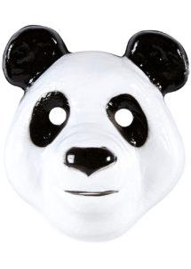 masque panda plastique, masque de panda, masque panda pour enfant, Masque de Panda