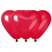 ballons coeurs, ballons coeurs rouges, ballons hélium, ballons latex, ballon en forme de coeur, ballon saint valentin Ballon Coeurs Rouges x 10, en Latex