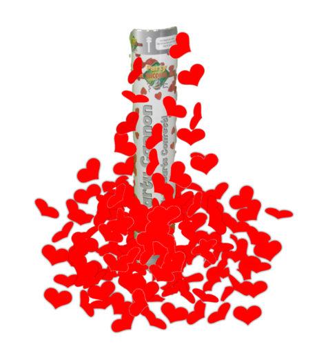 canon à confettis coeurs Canon à Confettis Coeurs, Rouges ou Blancs