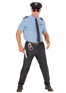 déguisement policier adulte, déguisement police adulte, déguisement policier homme, déguisement policier, costume de policier adulte, Déguisement de Policier, Pantalon Navy Chemise Ciel