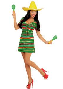 déguisement de mexicaine, costume de mexicaine déguisement, déguisement mexique femme, costume mexicain femme, Déguisement de Mexicaine