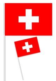 drapeau suisse, drapeaux de table de la suisse, coupe du monde 2018, drapeaux à agiter, drapeaux suisse Drapeau de Table x 10, Suisse