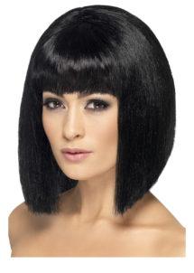 perruque femme, perruque pas cher paris, perruque noire, perruque carré noir, perruque femme, perruques paris, Perruque Coquette, Noire