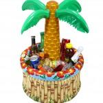 hawaï, déco palmier, bassine à boissons, rafraichisseur de boissons Palmier Rafraichisseur de boissons, Gonflable