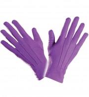gants violets, gants de couleur, gants violets déguisement, gants de couleur, accessoires gants déguisement, gants homme déguisement, accessoire déguisement, gants déguisement Gants Courts, Violets
