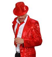 cravate sequins rouges, cravate à paillettes, cravate déguisement, accessoire déguisement, accessoire disco, cravate disco, cravate paillettes rouges, cravate rouge Cravate Fine Paillettes Sequins, Rouge