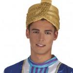 chapeaux oriental, coiffe de sultan, chapeau aladin, chapeaux dorés paris, chapeaux oriental, coiffe orientale paris Chapeau Oriental de Sultan Or