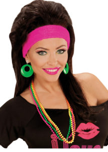 colliers de perles fuo, accessoires disco, bijoux fluos, accessoires discos, accessoires fluos, bijoux années 80, accessoires années 80, colliers perles en plastique, bijoux fluo, bijoux années 80, bijoux pour déguisements, accessoires fluos, accessoires années 80, collier disco, bijoux plastique fluo pas cher, Colliers Années 80, Perles Fluos