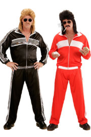 déguisements duos, déguisements années 80, déguisement couple années 80, déguisement couple survêtement Déguisement Couple Années 80, Survêtements